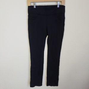 Athleta metro skinny pant size Small Black